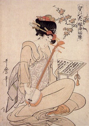 "Kitagawa Utamaro, ""Flowers of Edo: Young ..."