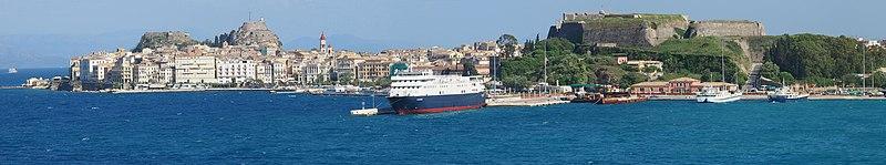 Korfu Stadt  Wikipedia