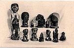 Pièces du musée d ethographie de ... apportée de Guinée par un missionnaire