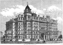 Langham London Hotel Haunted