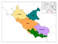 Provinces of Lazio.