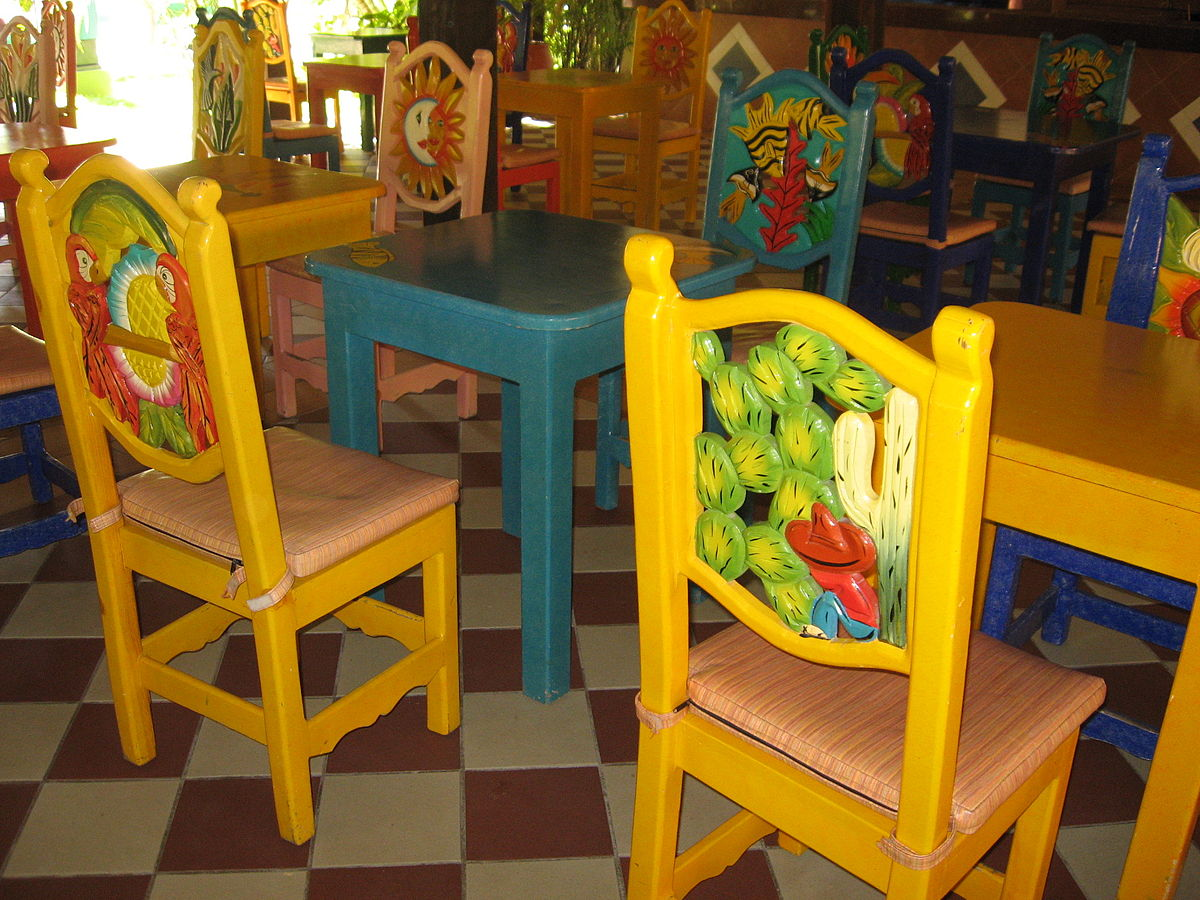 mexican dining room table and chairs kids patio stuhl wiktionary