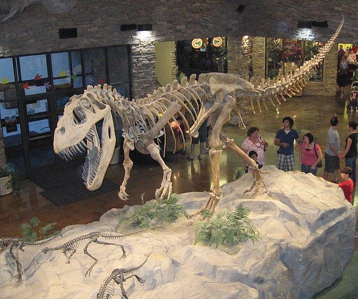 File:Museum AL dinosaur.jpg