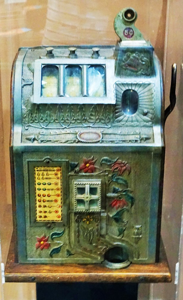 Queensland Police Museum - Joy of Museums - Poker Machine, 1929