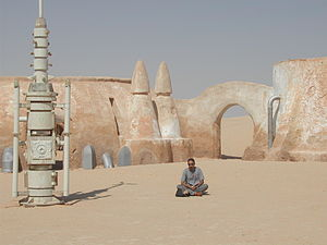 Star Wars filming location in Tunisia.