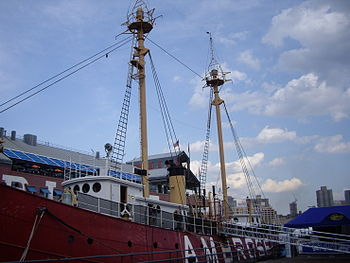 Ambrose Lightship, South Street Seaport, Manha...