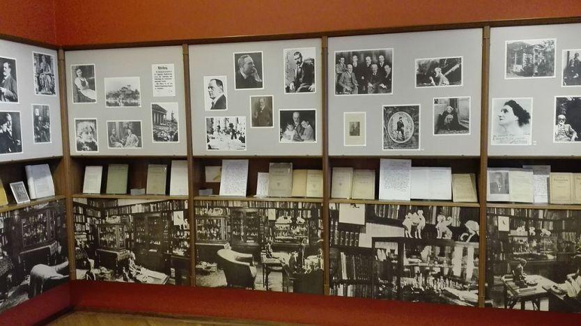 Ausstellung im Sigmund Freud Museum