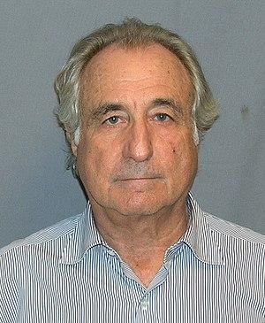 Jewish fraudster Bernard Madoff's mugshot