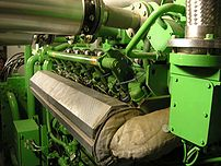 Biogas fuelled engine Biogas plant Strem