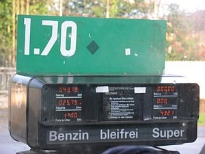 Unleaded gasoline