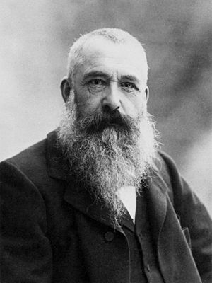 Claude Monet, photo by Nadar, 1899. Français :...