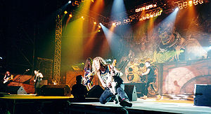 English: Iron Maiden during Ed Hunter tour
