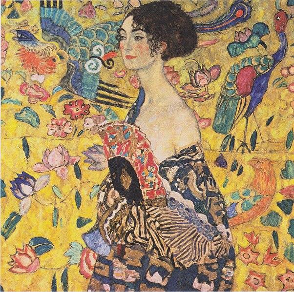 Bild Dame mit Fächer (1917-1918)