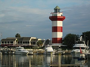 Harbor of Hilton Head Island, South Carolina, ...