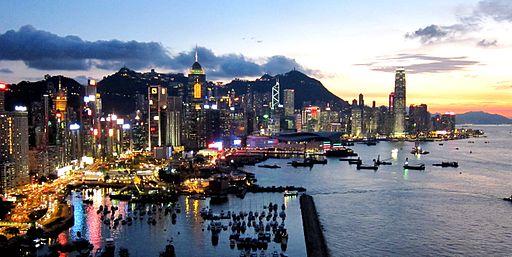 Hong Kong Island Skyline 201108