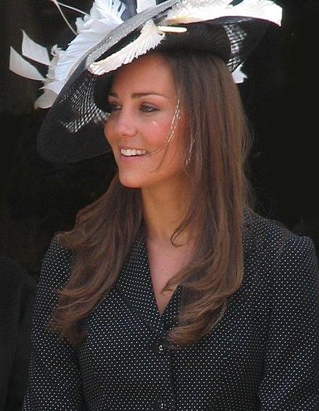 File:Kate Middleton at the Garter Procession 2008.jpg