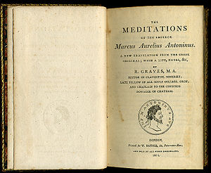 Titlepage of an 1811 edition of Meditations by...
