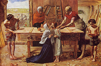 Christ in the House of his Parents by John Eve...