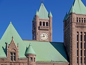 English: City hall of Minneapolis, Minnesota (...