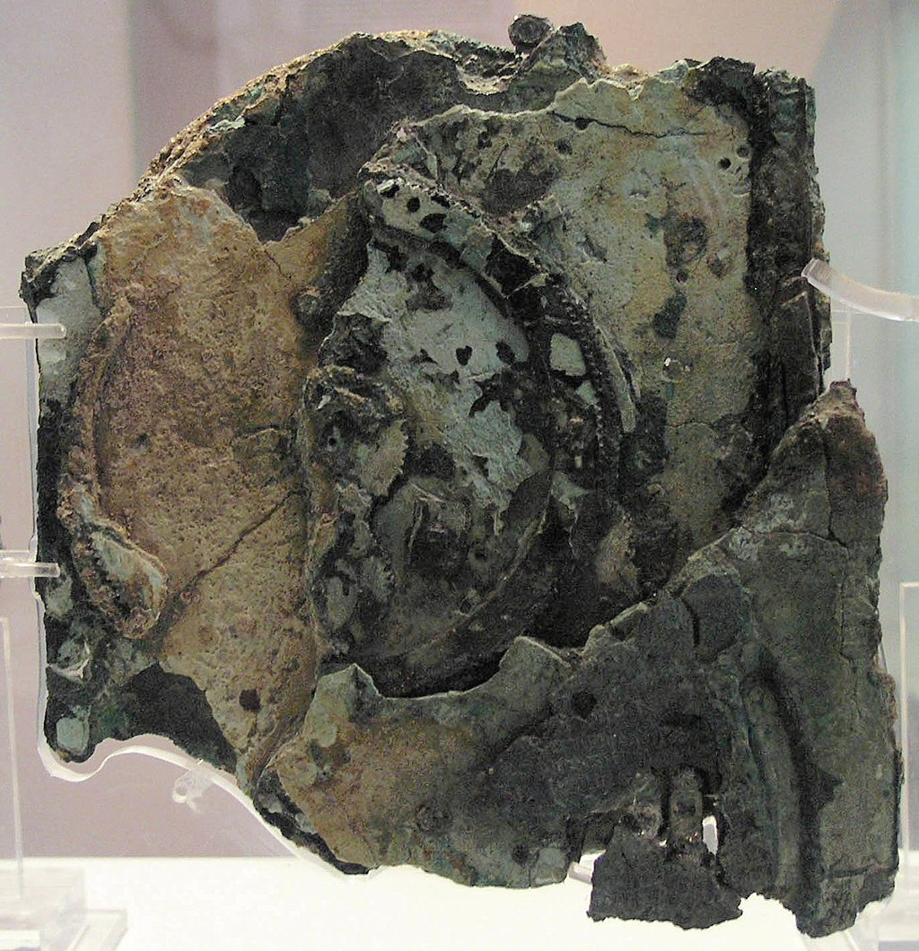 Antikythera, the first computer ever discovered in Greece, dating back to 205 BC.