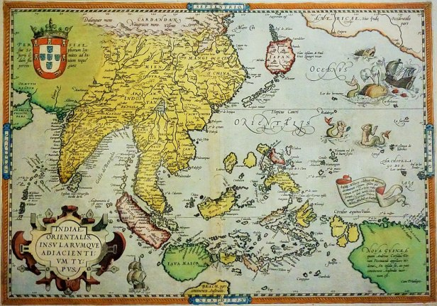 National Museum of Singapore - Joy of Museums - Abraham Ortelius Map of Southeast Asia