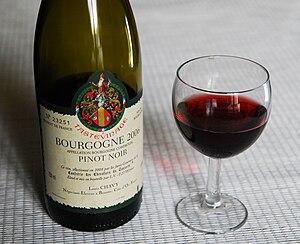 Français : Pinot noir