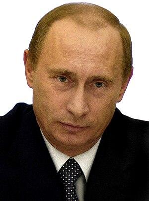 Vladimir Putin, President-elect of Russia.