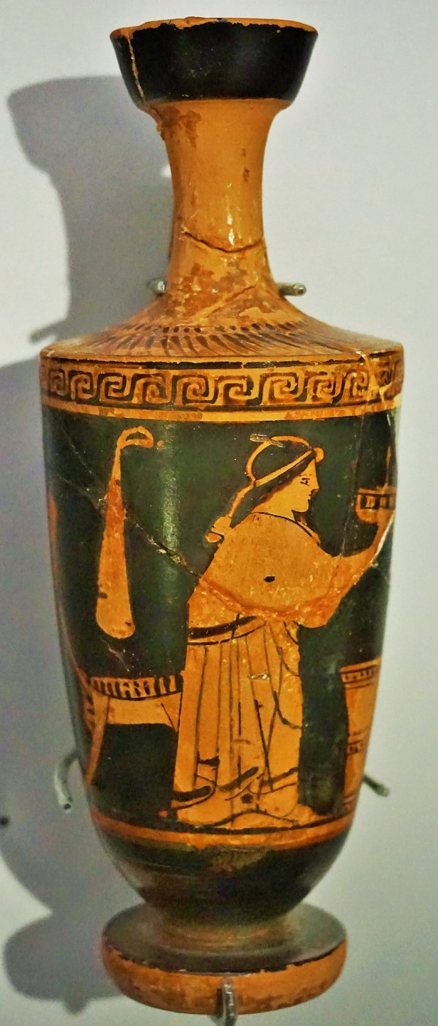 RD Milns Antiquities Museum - Joy of Museums - Lekythos with Woman