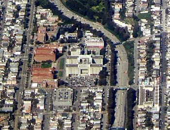 Aerial photograph of the San Francisco General...