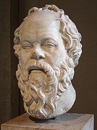 Sócrates en el Louvre