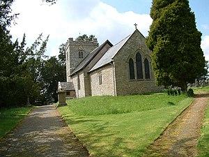 English: St. Margaret, Acton Scott.