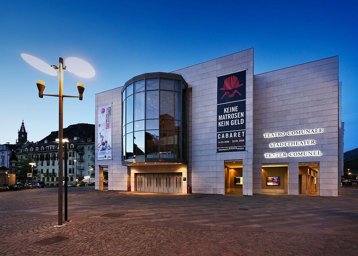 Teatro comunale Bolzano  Wikipedia