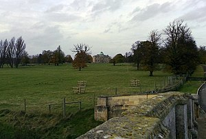 Tyringham Hall and Park