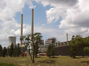 Wallerawang Power Station, New South Wales, Au...