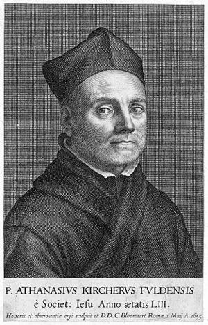 Athanasius Kircher, a 17th-century German polymath