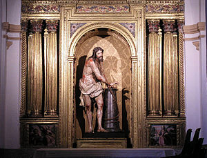 Christ, by Gregorio Fernández, Convent of Sant...