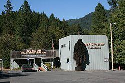 "The ""Bigfoot Museum"" in Willow Creek"