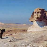 4 Paintings of Napoleon in Egypt