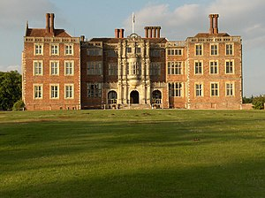 English: Picture of Bramshill House (now a pol...