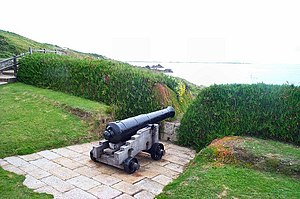 English: Cannon - Scillies. One of the cannons...