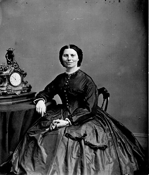 File:Clara Barton by Mathew Brady 1865.jpg