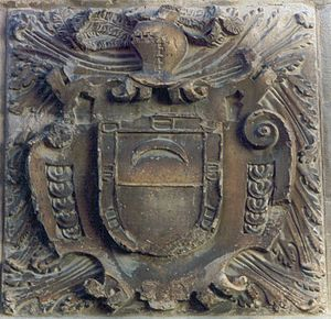 Escudo de los Luna de Ayerbe