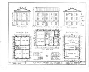 File:McKendree College, Old Main Building, College Square