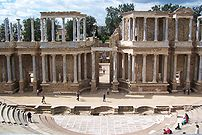 Roman theater in Mérida.