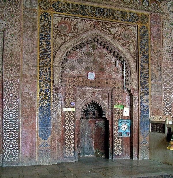 File Mihrab Jama Masjid Fatehpur - Wikimedia Commons