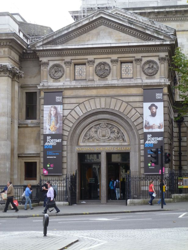 National Portrait Gallery, London, main entrance