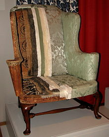 steel chair repair folding foam bed upholstery wikipedia a new england easy at the winterthur museum and country estate in delaware