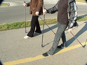 Nordic walking in Hungary