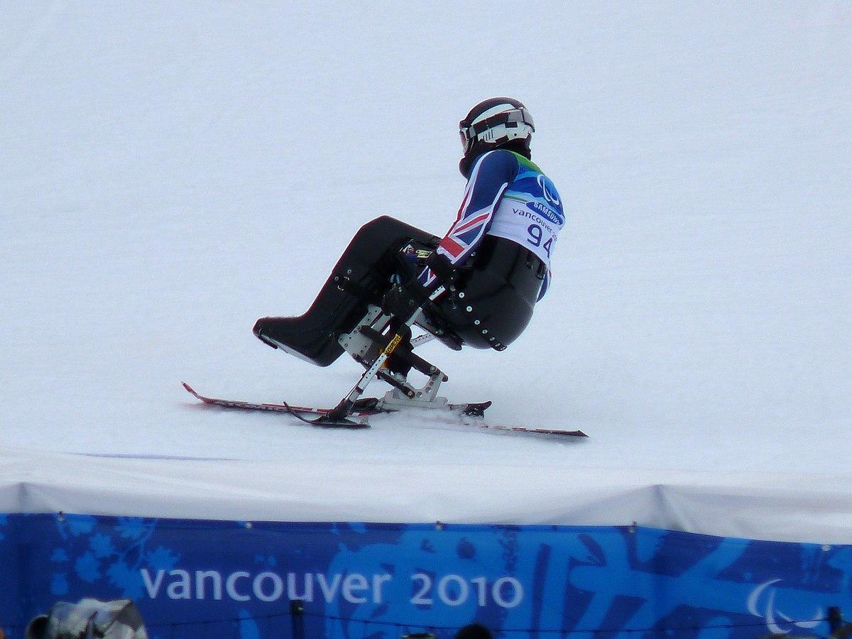 wheelchair skiing cheap patio chair covers para alpine wikipedia