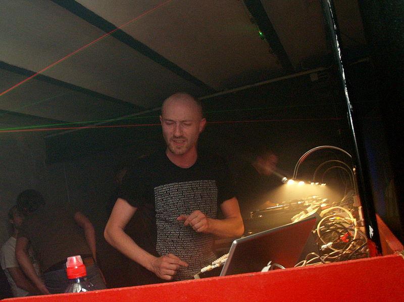 DJ Paul Kalkbrenner alias Paul dB+, Kalkito und Grenade.